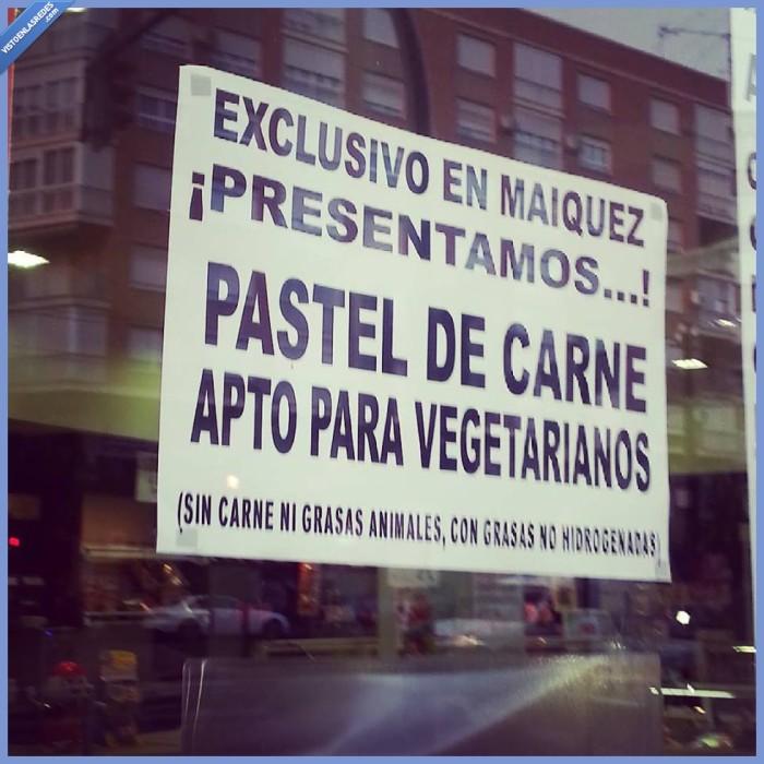 Murcia,pastel de carne sin carne,pastelico,tipico,vegetariano