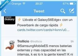 Enlace a Los de @SamsungMOBILEES también saben trollear