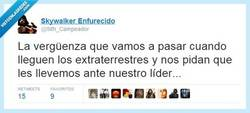 Enlace a Como los aliens aterricen en España... por @Sith_Campeador