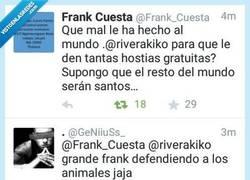 Enlace a Frank Cuesta es un gran amante de la fauna autóctona por @GeNiiuSs_