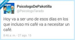 Enlace a Café, café, café, café... por @PsicologoTarado
