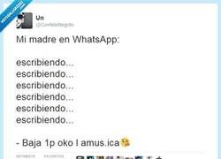 Enlace a Madres en WhatsApp, tan adorables... por @ConNdeNegrito