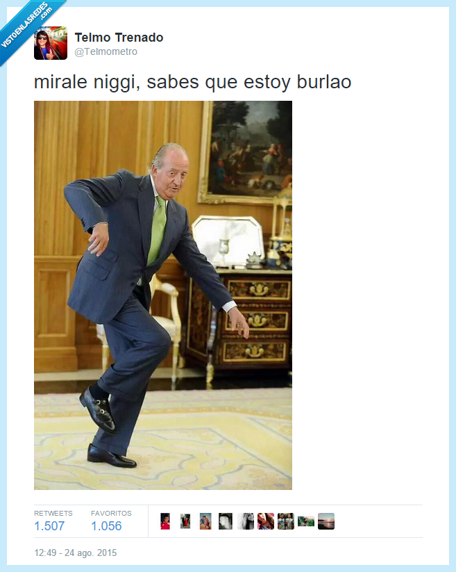 baile,Burlao,cae,Dudu,Edu García,Juan Carlos,Rey
