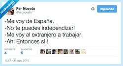 Enlace a Independencia no, ''espíritu aventurero'' sí por @fer_novato