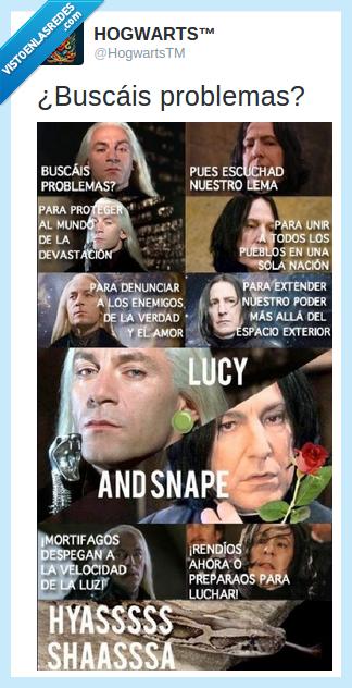 devastación,Lucius Malfoy,Pokemon,Severus snape,Team Rocket
