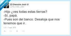 Enlace a Tanta tierra pa' esto... por @The_False_Joker
