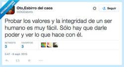 Enlace a Ahí sale su verdadera naturaleza por @OtoEsbirro