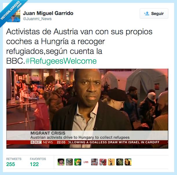activista,BBC,buscar,Hungria,organizar,RefugeesWelcome,refugiado,salvar,Siria