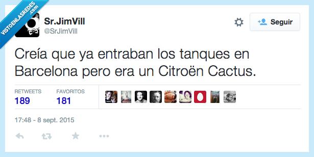 11s,Barcelona,Cataluña,Citroen Cactus,creia,tanques