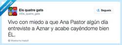 Enlace a Ana Pastor puede hacerlo posible, por @Els_quatre_gats