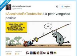 Enlace a La peor venganza del toro en Tordesillas, por @eltrampero