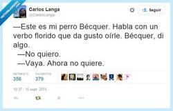 Enlace a Es tímido, también, por @CarlosLanga