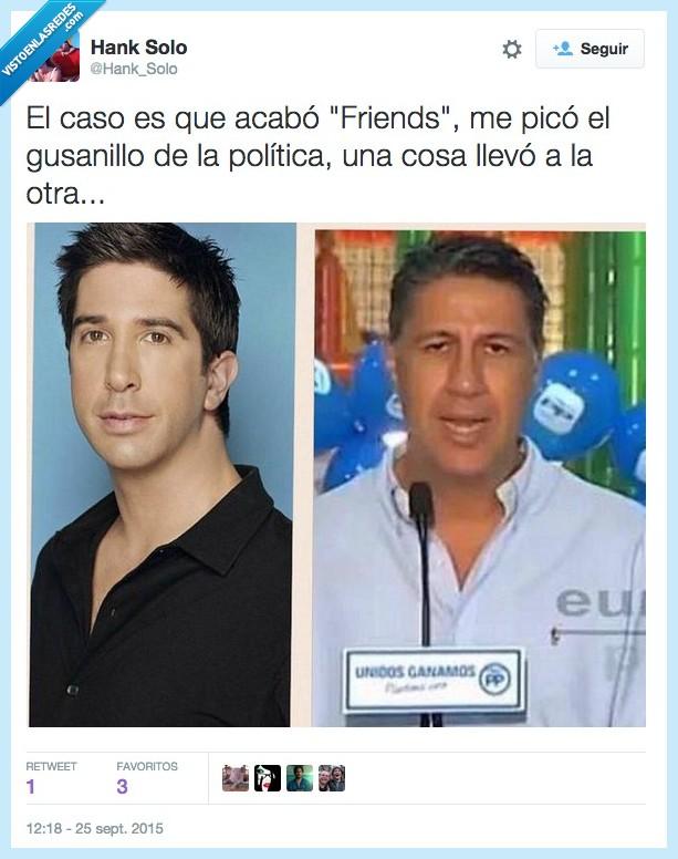 Albiol,Friends,politica,Ross
