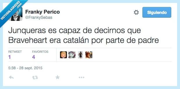 Braveheart,buscar,catalan,Cataluña,familia,Junqueras,padre,parte,revolucionario