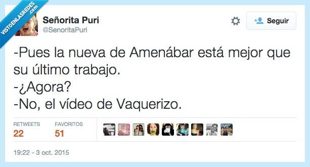 Ágora,Amenábar,Mario Vaquerizo,Me encanta,mejor,nueva,película,trabajo,último,video