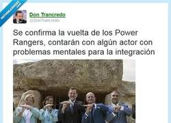 Enlace a ¡Vuelven los PPower Rangers! por @DonTrancredo