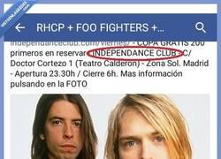 Enlace a Nirvana en concierto en Madrid, no te lo pienses