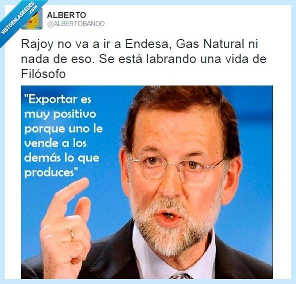Endesa,filosofía,filosofo,Gas Natural,listo,Rajoy,tonto