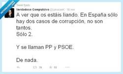 Enlace a Solo hay 2 casos de corrupción Por @lekaconk