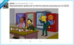 Enlace a La reforma del Señor Burns Por @woodyeastwood