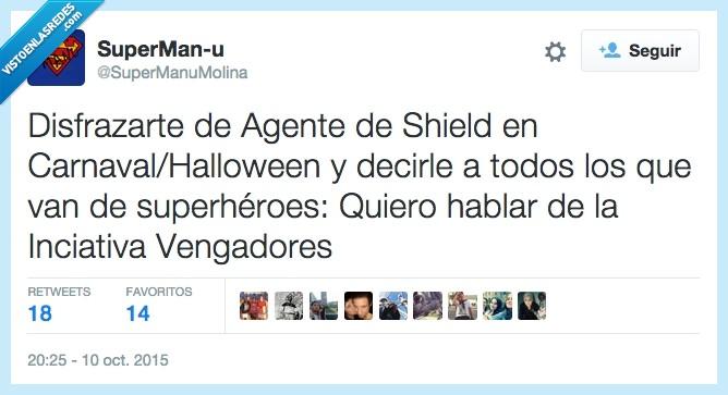 agente,carnaval,disfraz,halloween,marvel,shield,vengadores