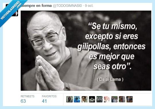 Dalai Lama,lama,mejor,mismo,otro,persona,personalidad,ser
