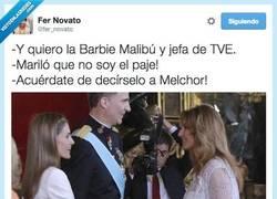 Enlace a Con tanto Rey normal que Mariló se líe por @fer_novato