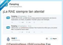 Enlace a No se les escapa una a estos de @RAEinforma por @PamplingNews