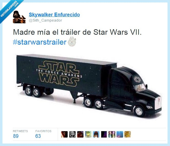 camión,force awakens,pelicula,star wars,trailer