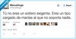 Enlace a No eres exigente, sólo eres un angustias por @manuelhuga