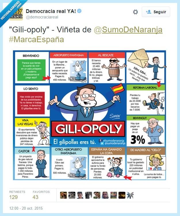 España,gili-opoly,monopoly,politica,pp