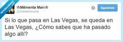 Enlace a ¿En Las Vegas pasan cosas? por @CristianGround