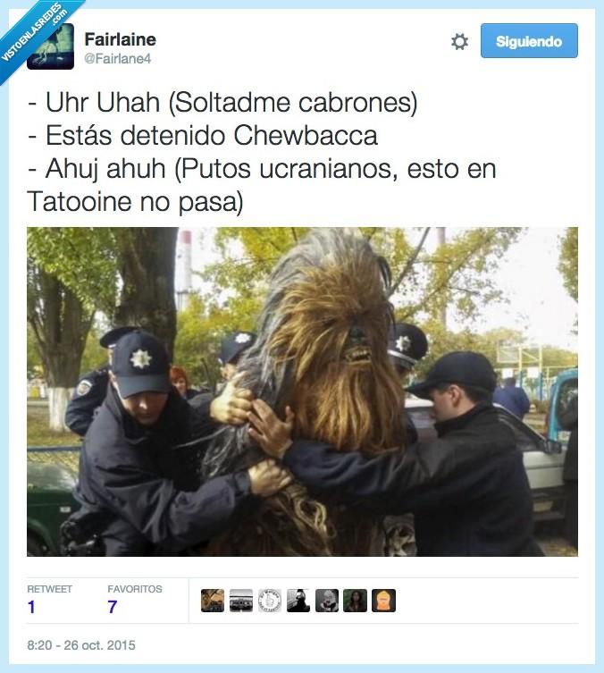 detener,disfraz,policia,soltar,Star Wars,Tatooine,Ucrania