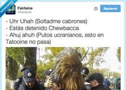 Enlace a ¿Por qué están deteniendo a Chewbacca? por @Fairlane4
