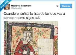 Enlace a Llevo el curso bien, sí, sí... Por @Medievalico