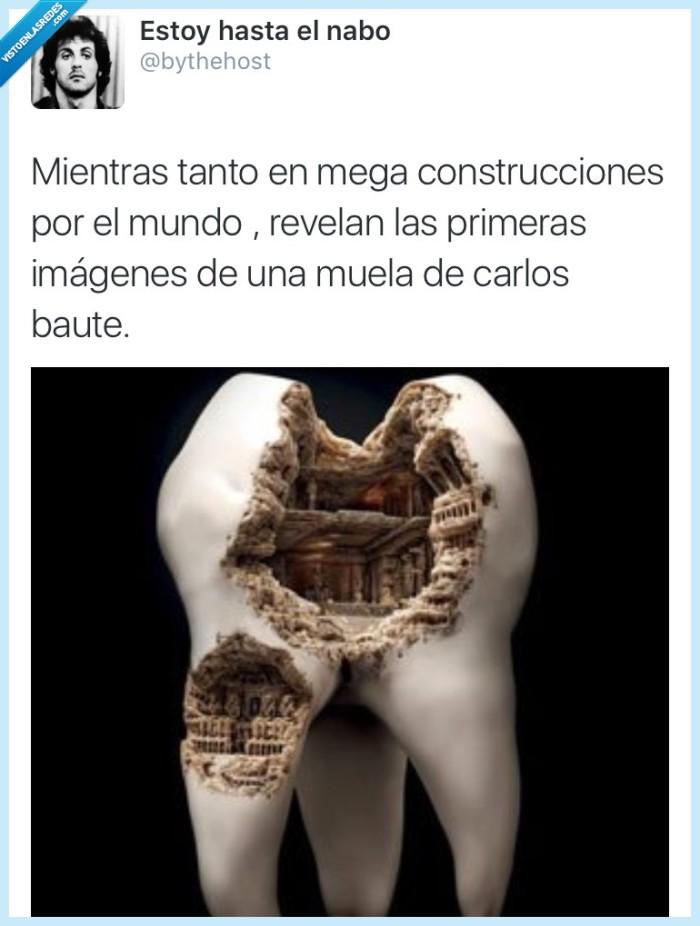 Carlos Baute,gigante,megaconstrucciones,muela