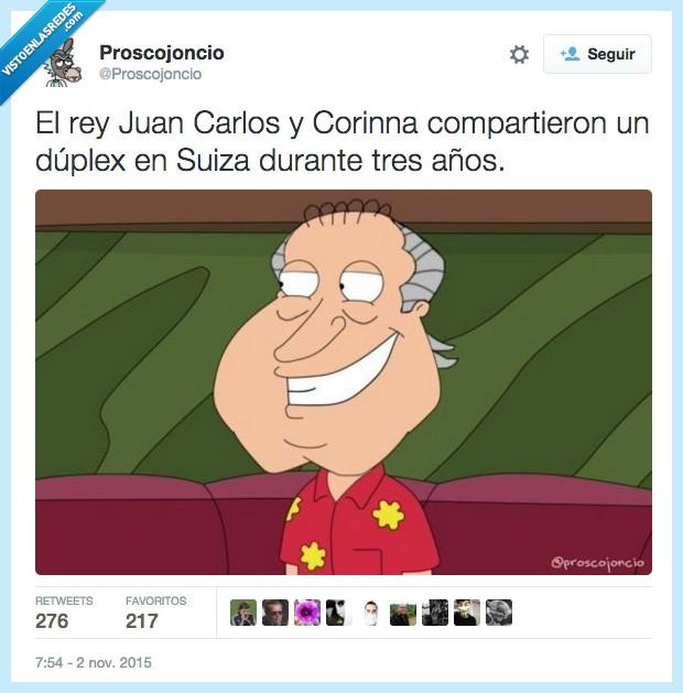 años,Borbon,Corinna,duplex,family guy,Juan Carlos,Padre de familia,Quagmire,Rey,suiza,tres