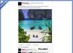 Enlace a Se va de vacaciones a Tailandia y publica fotos de Google imagenes