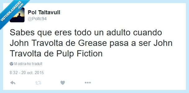 Cine,Grease,John Travolta,Pulp Fiction,Tarantino