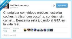 Enlace a Benzema, gran amigo de Trevor y Mike DeSanta por @SrVilach
