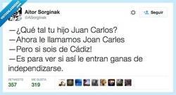 Enlace a A partir de ahora, llámale Joan Carles por @ASorginak
