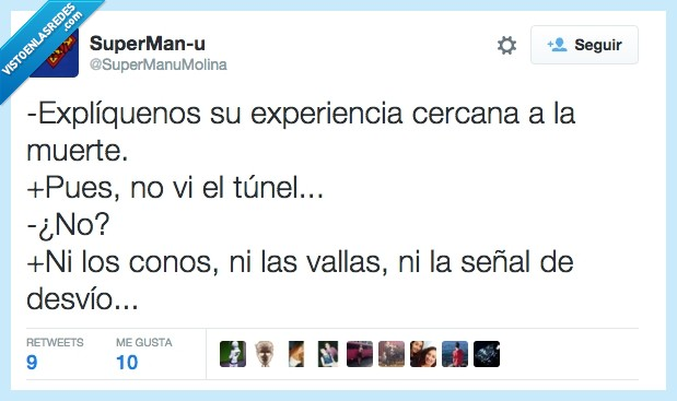 accidente,coche,experiencia,muerte,señal,túnel