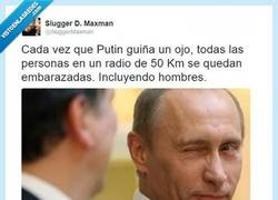 Enlace a Simplemente Putin, único en su especie por @sluggermaxman