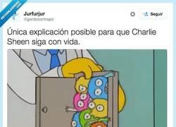 Enlace a Y es por esto que Charlie Sheen no muere por @gordocontrapo