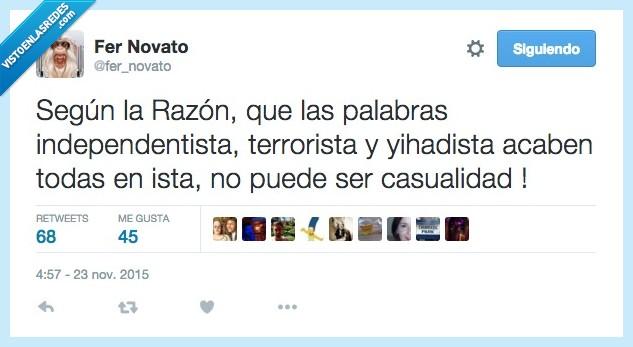 Cataluña,independencia,independentista,La Razon,portada,terrorista,yihadista