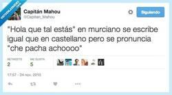 Enlace a Aprendiendo idiomas españoles por @Capitan_Mahou