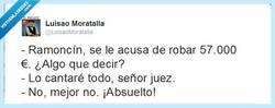 Enlace a Ramoncín canta ante el juez por @luisaoMoratalla