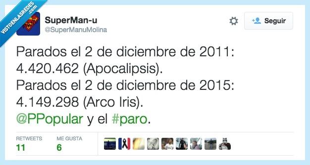 2011,2015,apocalipsis,arco iris,diciembre,noviembre,paro,partido popular,pp