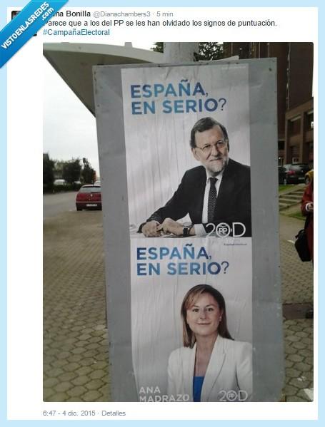 Campaña,Caraduras,Electoral,Política,PP