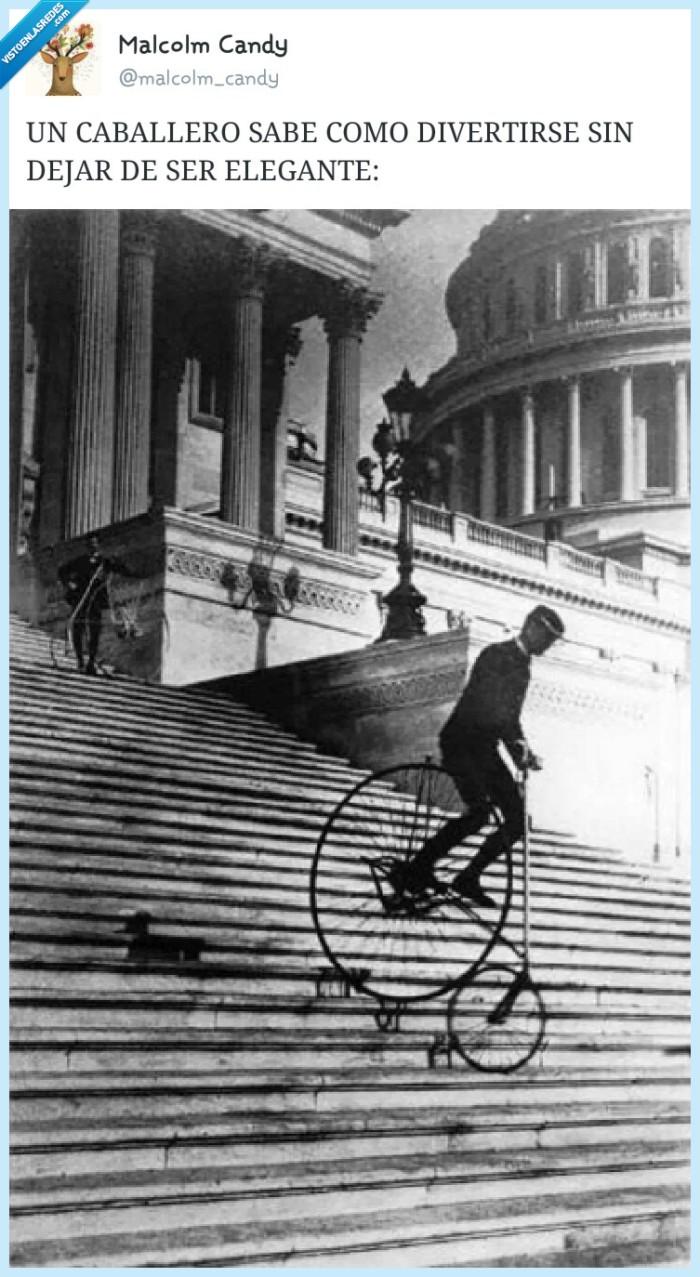 bajar,bici,bmx,caballero,deporte,escaleras,extremo,peligro,retro,vintage